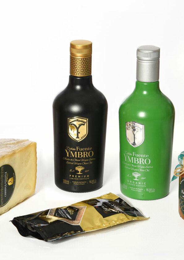 cesta-productos-gourmet-Caramelo-Black-Eco-dehesa-fuente-ymbro