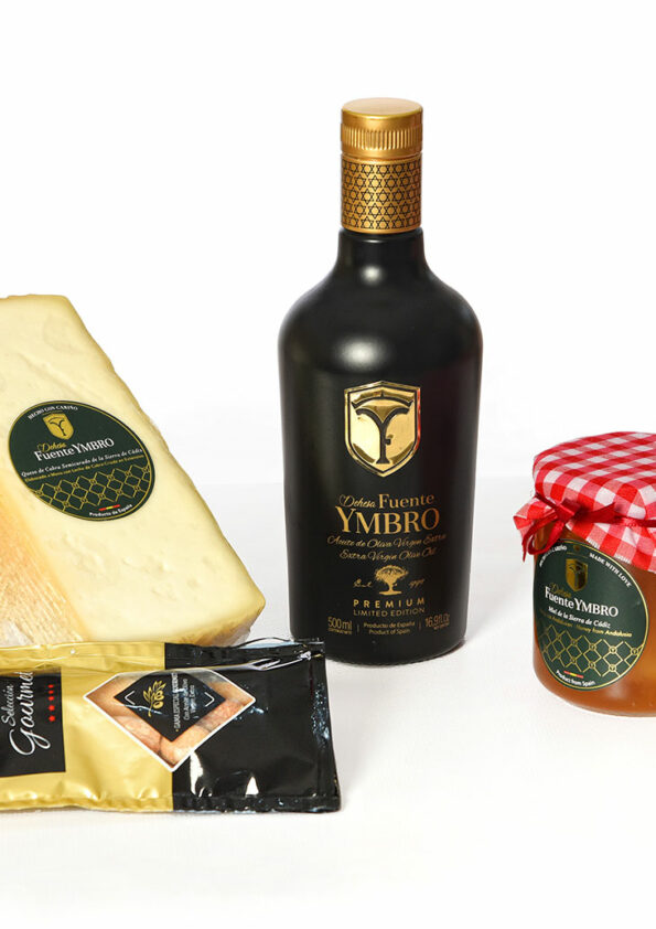 cesta-productos-gourmet-Dandy-Black-dehesa-fuente-ymbro
